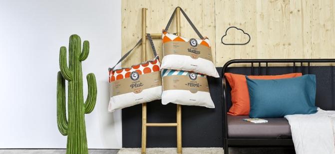 les diff rents conforts des oreillers petit meunier plat. Black Bedroom Furniture Sets. Home Design Ideas